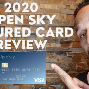 2020 Open Sky Secured Card Review/Capital Bank Secured Card Review//Delta Credit Tip