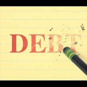 What is a Debt forgiveness?